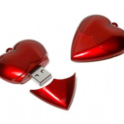 13151HEA_Heart FlashDrive