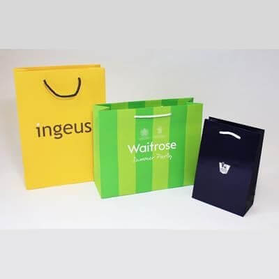 Paper bags printed quality