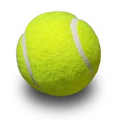 tennis-ball printed